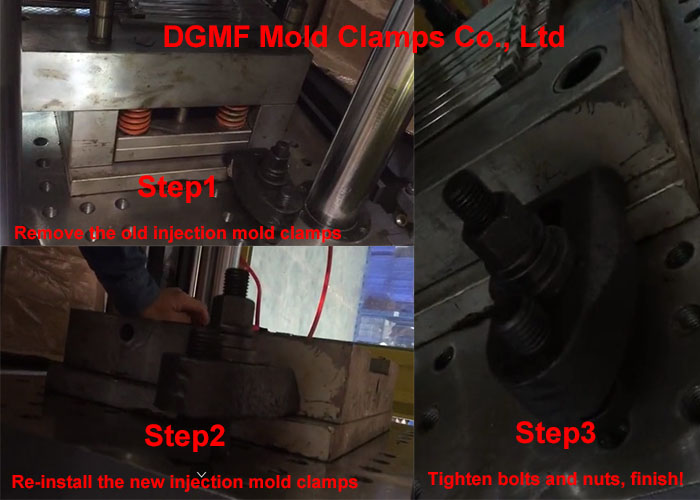 How to install injection mold clamps -- dgmf mold clamps co., ltd
